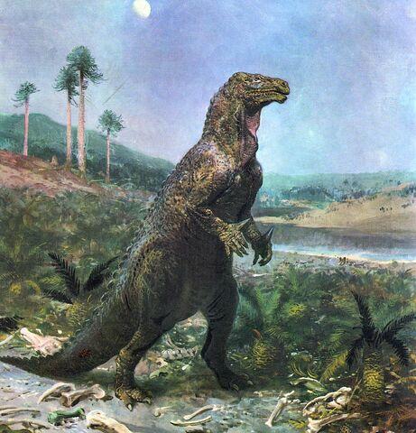 File:Zdeněk Burian Iguanodon.jpg