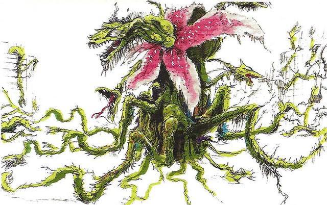 File:Concept Art - Godzilla vs. Biollante - Biollante 7.png