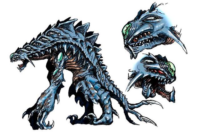File:Concept Art - Godzilla 2000 Millennium - Orga 13.png