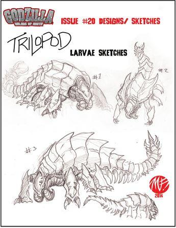 trilopod larva
