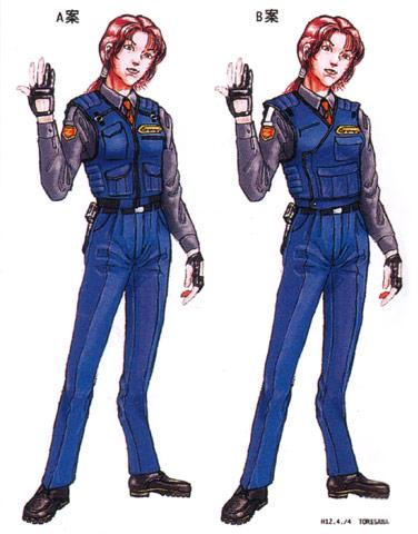 File:Concept Art - Godzilla vs. Megaguirus - G-Grasper Uniform 2.png