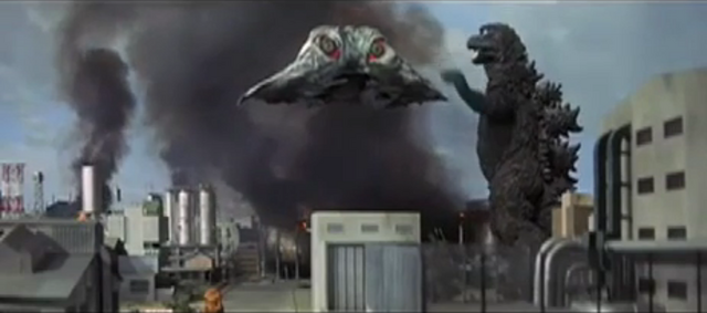File:Godzilla vs. Hedorah 1 - Godzilla fighting Flying Hedorah.png