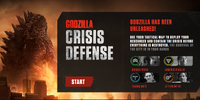 Godzilla: Crisis Defense
