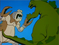 Godzilla vs. The Cyclops Monster 2