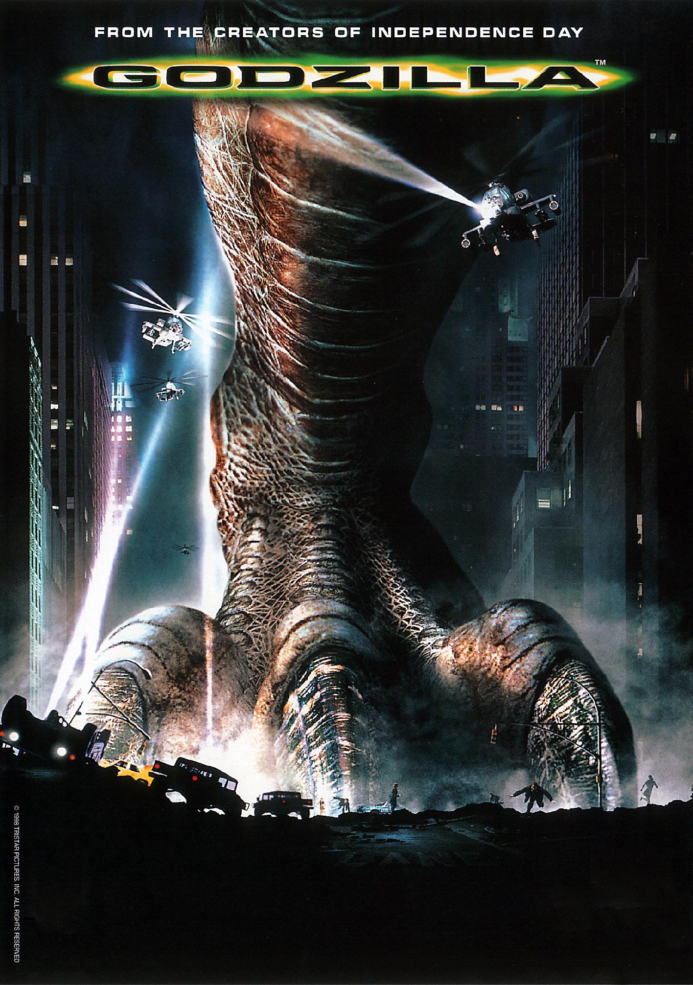 Mi punto de vista sobre Godzilla 1998