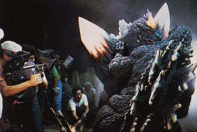 File:GVSG - Filming Godzilla's Fight With SpaceGodzilla.jpg
