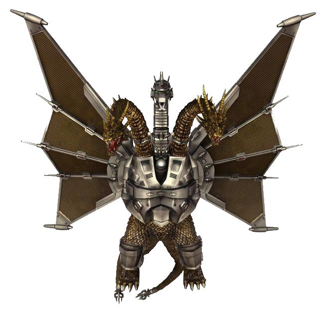 Godzilla Vs Mecha King Ghidorah Image - Mecha-King Ghi...
