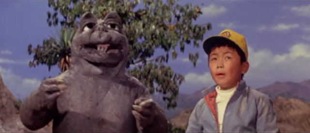 File:All Monsters Attack - Minilla and Ichiro see Gabara.png