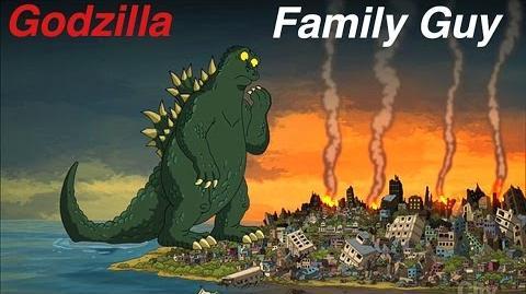 Godzilla In Family Guy!