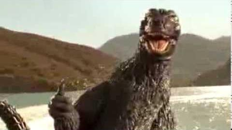 Godzilla - Snickers Chocolate Bar TV Commercial Ad