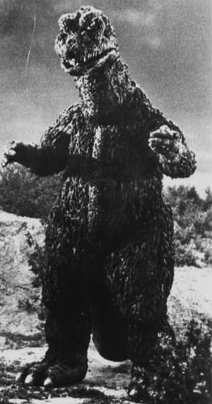 The SoshingekiGoji as it is seen in a production picture of Godzilla vs. Gigan
