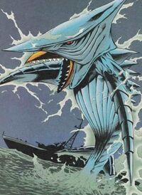 Zigra in the Dark Horse comics