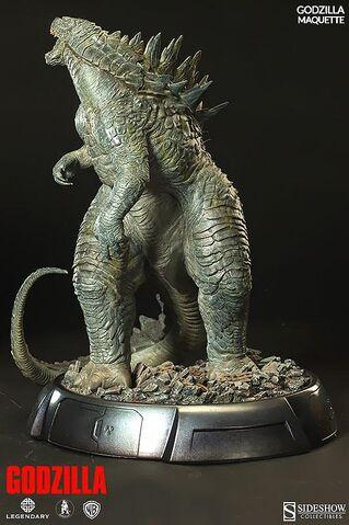 File:Sideshow Collectibles 24-inch Godzilla 2014 Maquette 5.jpg