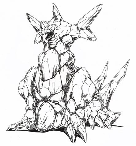 File:Concept Art - Godzilla vs. SpaceGodzilla - SpaceGodzilla 1.png