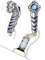 Concept Art - Godzilla Final Wars - Gotengo Controls 2
