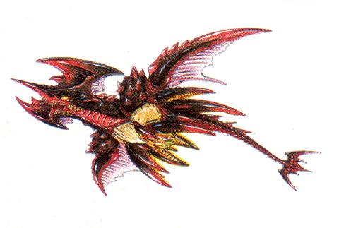 File:Concept Art - Godzilla vs. Destoroyah - Destoroyah Flying 1.png