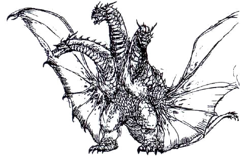 File:Concept Art - Rebirth of Mothra 3 - Grand King Ghidorah 3.png