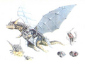 Concept Art - Rebirth of Mothra 3 - Garu Garu 3