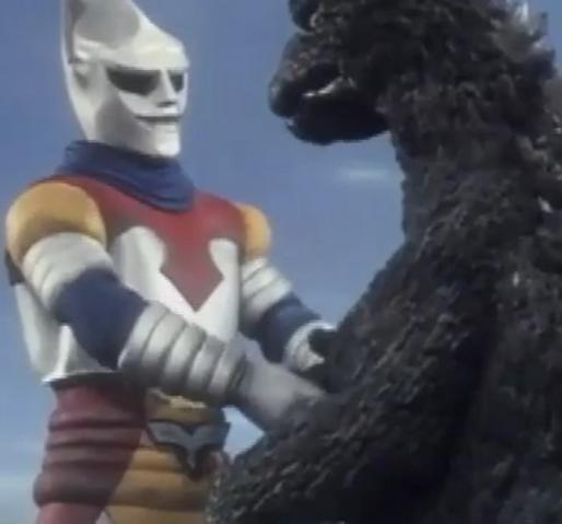 File:Godzilla vs. Megalon 4 - Jet Jaguar Meets Godzilla.png