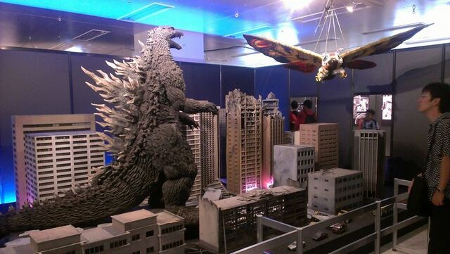 File:Great Godzilla 60 Years Special Effects Exhibition photo by Joseph Rouleau - TokyoGoji and HeiseiMosuImago.jpg