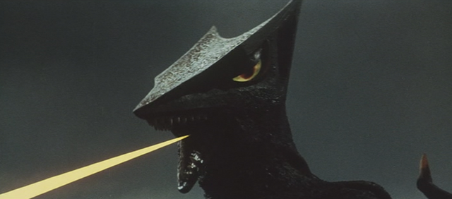 File:Gamera - 3 - vs Gyaos - 7 - Gyaos Fires a ray.png