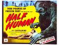Half Human American Poster 3