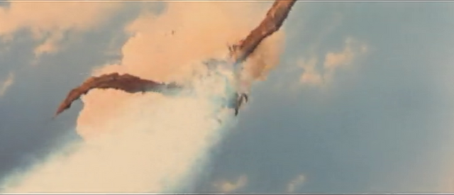 File:All Monsters Attack - Giant Condor gets shot down while in stock footage form.png