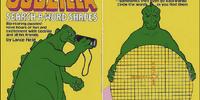 Godzilla Search-A-Word Shapes