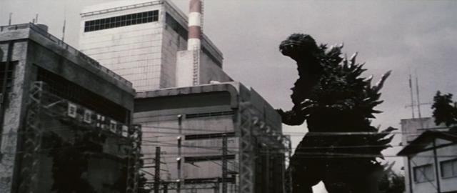 File:Godzilla vs. Megaguirus - Godzilla attacks Tokai Village, 1966.png