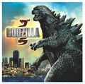 Godzilla 2014 Party Napkins Lunch
