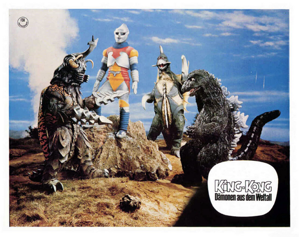 File:Godzilla vs. Megalon Lobby Card Germany 2.png