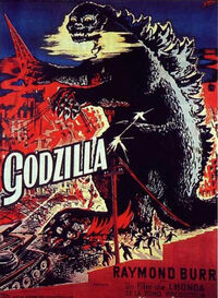 Godzilla Movie Posters - Gojira -French-