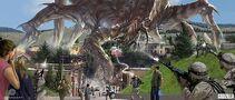 Concept Art - Godzilla 2014 - Kan Muftic 2 MUTO