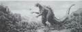 Concept Art - King Kong vs. Godzilla - Godzilla 1
