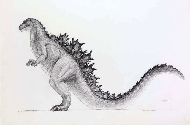 File:Godzilla 1994 Concept 1.jpg