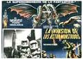 Invasion of Astro-Monster Poster Mexico 1