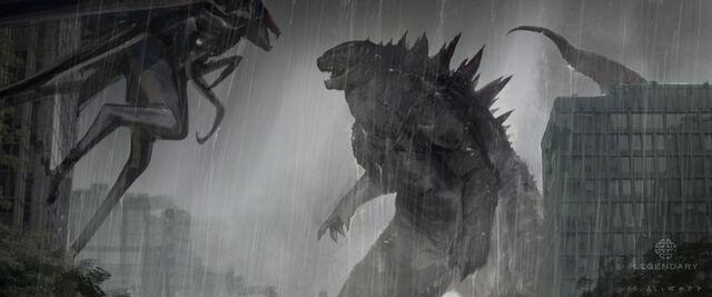 File:Concept Art - Godzilla 2014 - Godzilla vs. MUTO 8.jpg