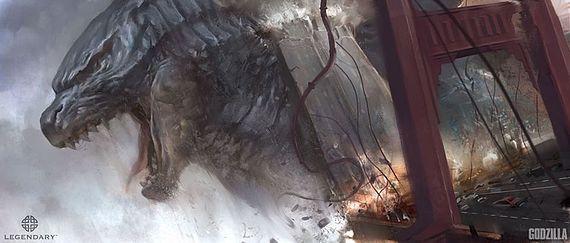 File:Concept Art - Godzilla 2014 - Kan Muftic 1 Godzilla.jpeg