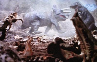 File:Triceratops v T.rex.jpg