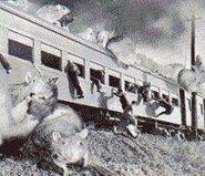 Nezura vs Train