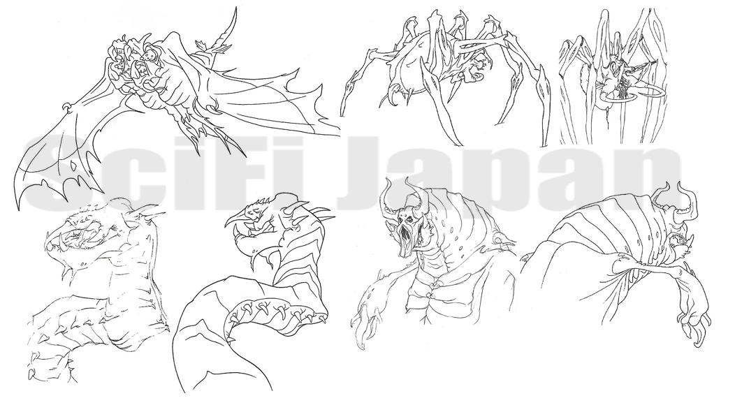 Unused Godzilla The Series Monsters Wikizilla Fandom