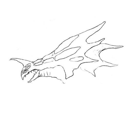 File:Concept Art - Godzilla 2000 Millennium - Orga 66.png