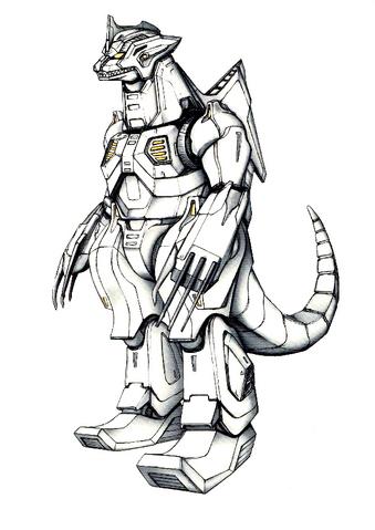 File:Concept Art - Godzilla Against MechaGodzilla - Kiryu 46.png