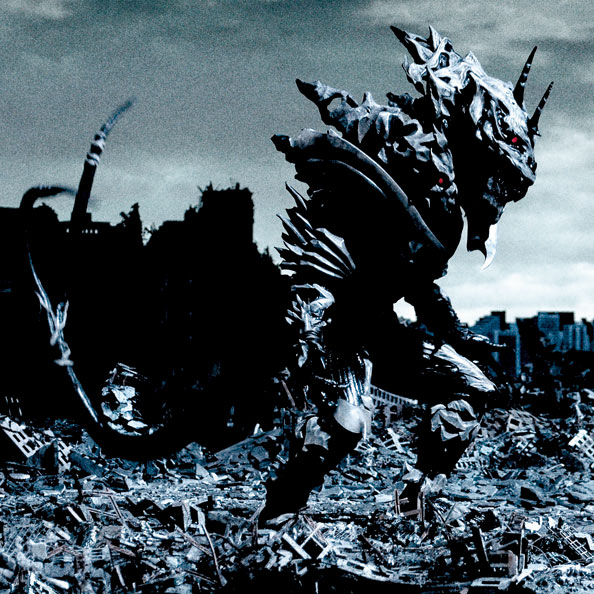 Monster X as he appears in Godzilla: Final Wars (click to enlarge)