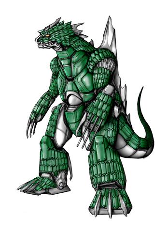 File:Concept Art - Godzilla Against MechaGodzilla - Kiryu 33.png