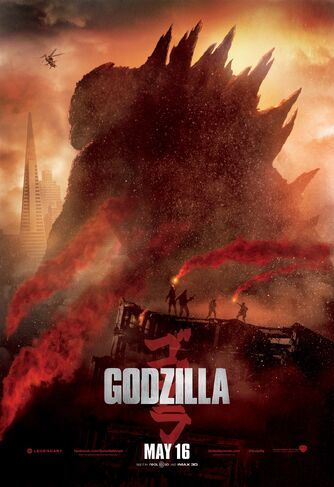 Godzilla 2014 March 20 Poster
