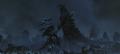 Godzilla Final Wars - 5-1 Monster X Grabs Godzilla