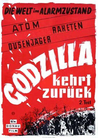 File:Godzilla Raids Again German Poster A.jpg