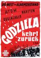 Godzilla Raids Again German Poster A