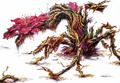 Concept Art - Godzilla vs. Biollante - Biollante Rose 12